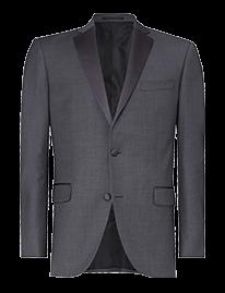 Daymond John Steel Gray Tux